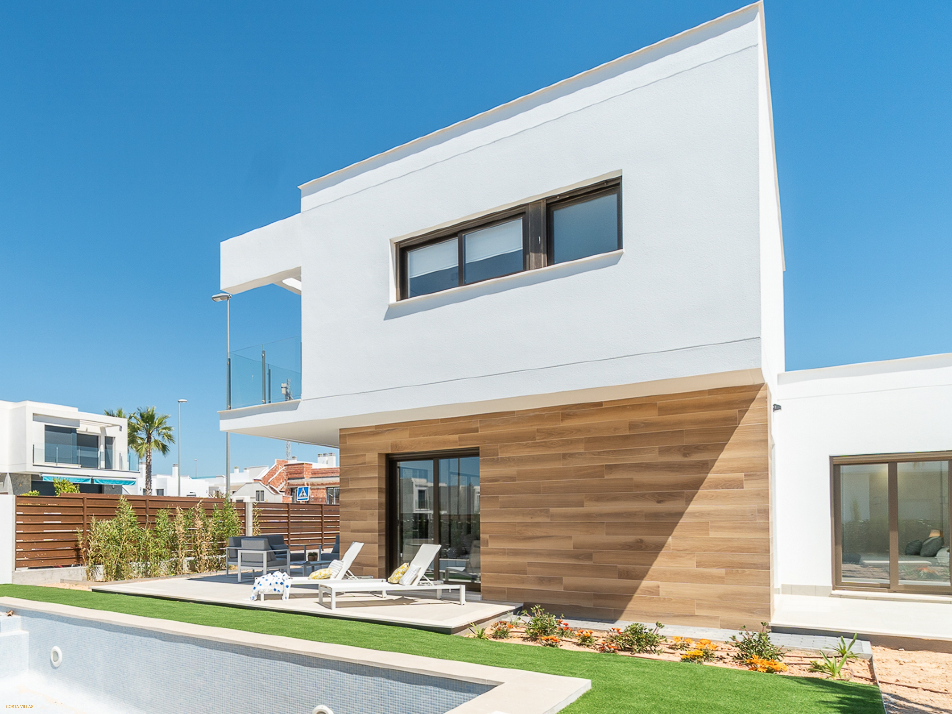 New key ready detached villas with private pools
