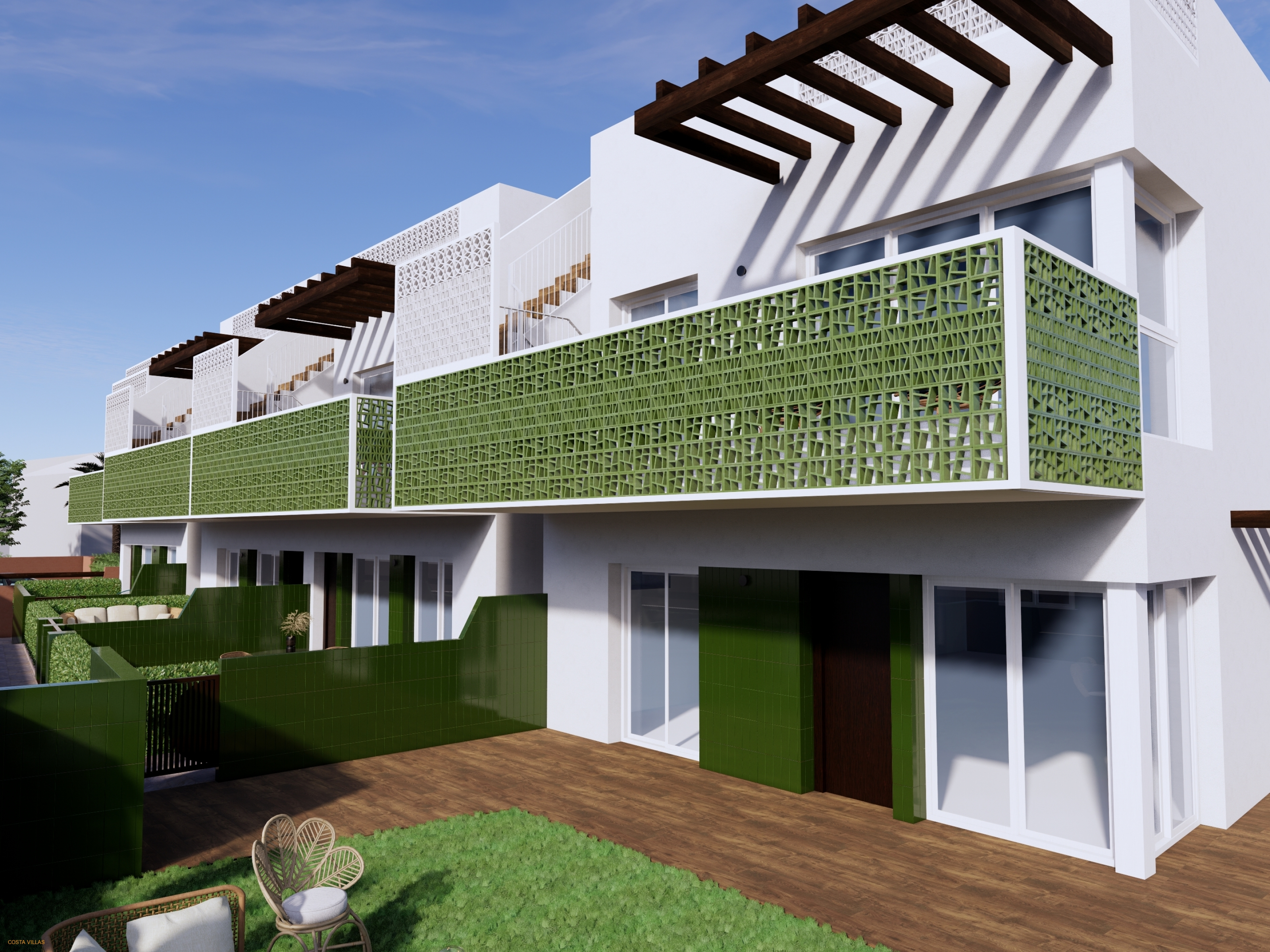 New development of apartments just 80m from beach!