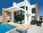 CV0329, NEW BUILD. 3 Bed, 3 bath villas with private pool